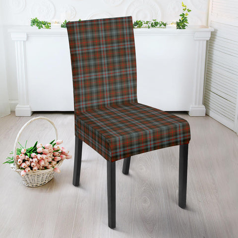 Murray of Atholl Weathered Tartan Dining Chair Slip Cover