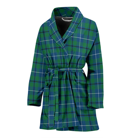 Douglas Ancient Tartan Women's Bath Robe