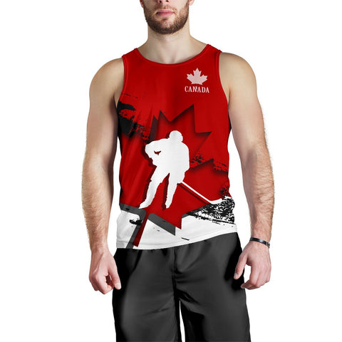 Canada Tank Top - Maple Leaf Hockey (Men) A02