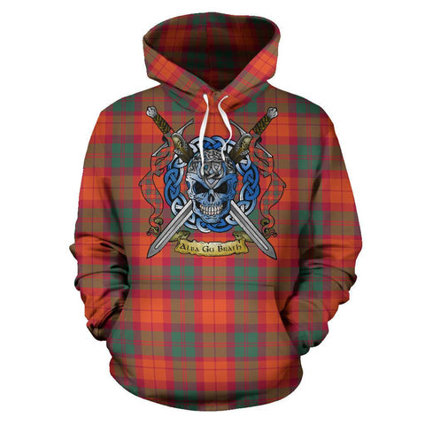 MacNab Ancient Tartan Hoodie Celtic Scottish Warrior A79 | Over 500 Tartans | Clothing | Apaprel