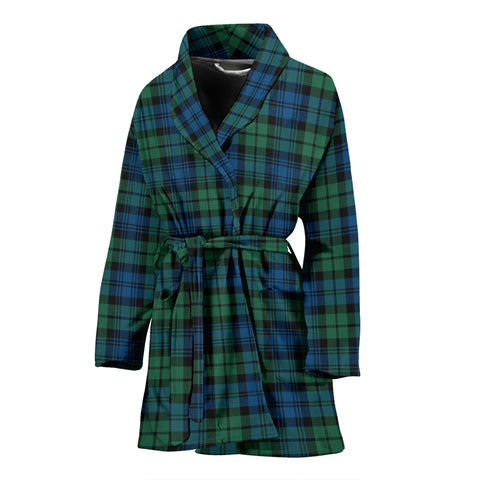 Campbell Ancient 02 Tartan Women's Bath Robe