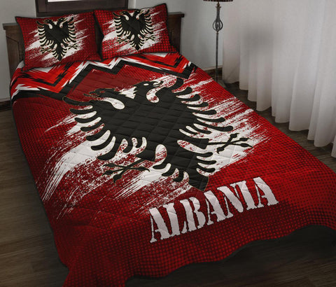 Albania Quilt Bed Set - New Release A25