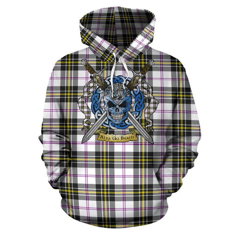Image of MacPherson Dress Modern Tartan Hoodie Celtic Scottish Warrior A79 | Over 500 Tartans | Clothing | Apaprel
