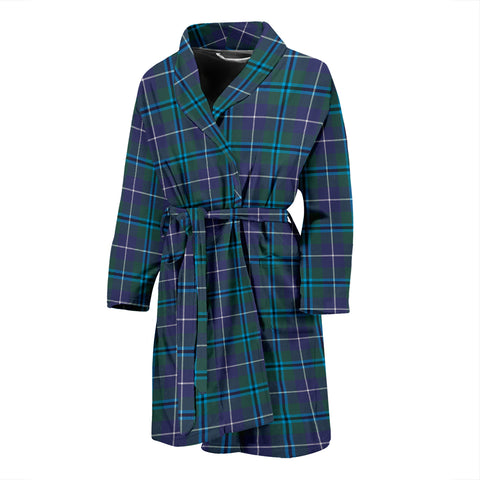 Douglas Modern Tartan Men's Bath Robe