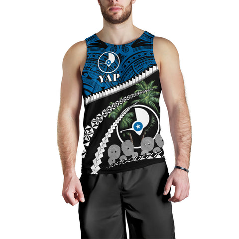 Image of Yap Men Tank Top - Road to Hometown K4