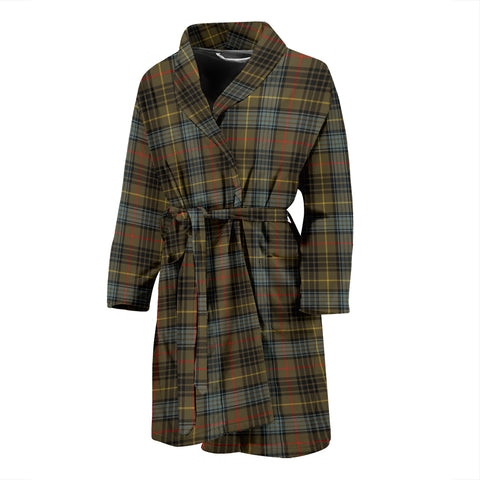 Stewart Hunting Weathered Tartan Men's Bath Robe