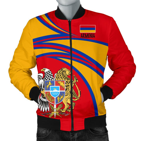 Image of Armenia Men's Bomber Jacket A15