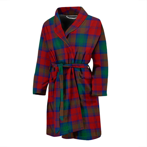 Image of Lindsay Modern Tartan Men's Bath Robe