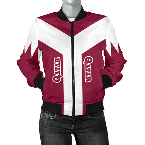 Qatar Bomber Jacket Rising Women A10