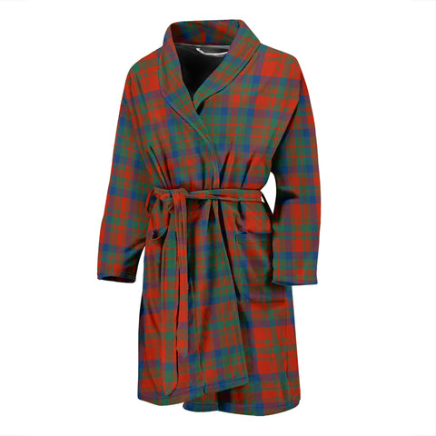 Matheson Ancient Tartan Men's Bath Robe