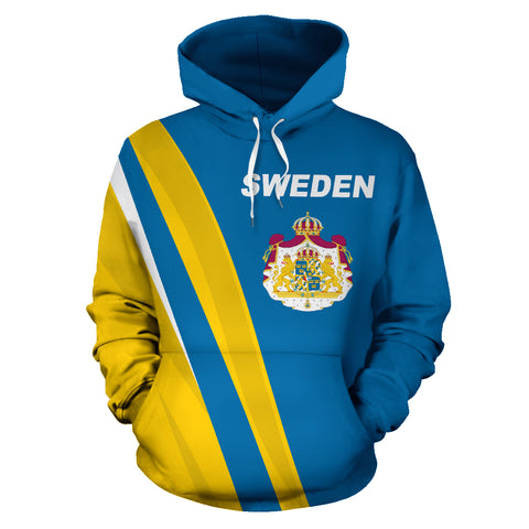 Image of Sweden Hoodie - Special Version by 1sttheworld.com