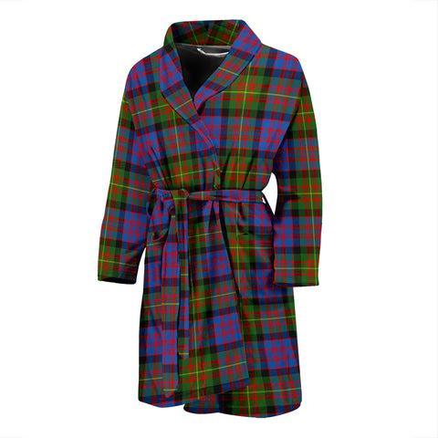 Carnegie Ancient Tartan Men's Bath Robe