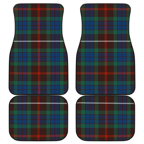 Image of Fraser Hunting Ancient Tartan Car Floor Mat 4 Pieces K7