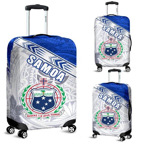 Samoa Rugby Luggage Covers Spirit Manu Samoa White | 1sttheworld