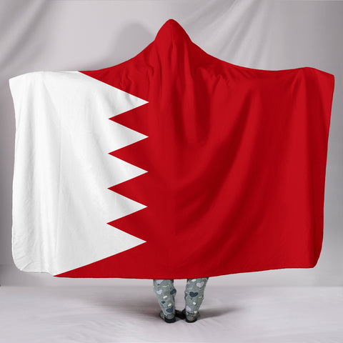 Bahrain Hooded Blanket Original Flag A7