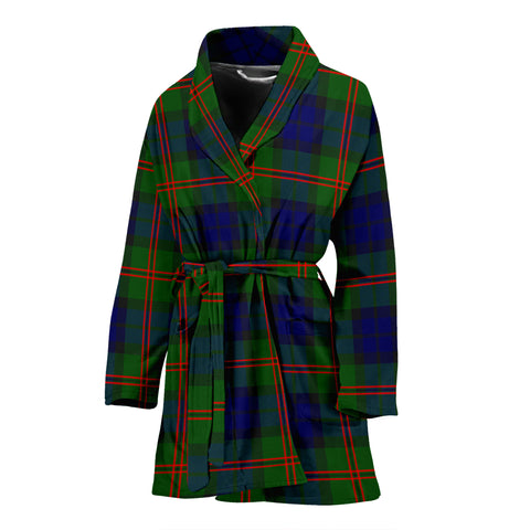 Image of Dundas Modern 02 Tartan Women's Bath Robe
