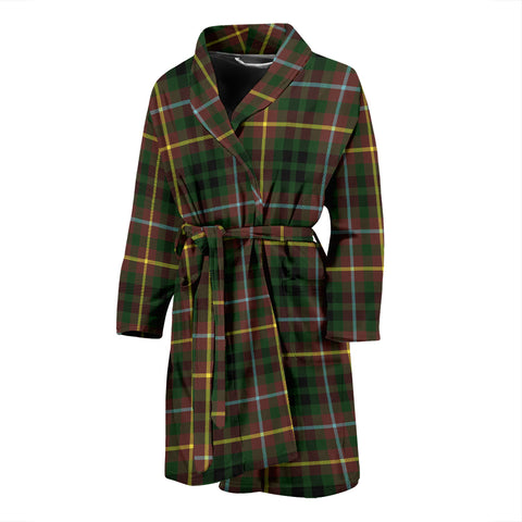 Buchanan Hunting Tartan Men's Bath Robe