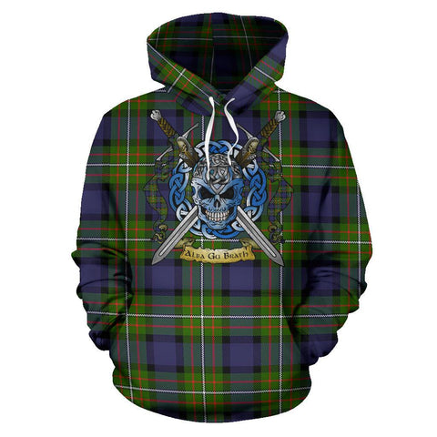 Fergusson Modern Tartan Hoodie Celtic Scottish Warrior A79 | Over 500 Tartans | Clothing | Apaprel