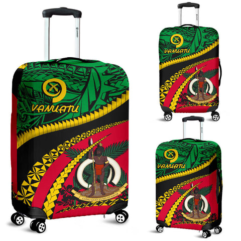 Image of Vanuatu Luggage Covers - Road to Hometown