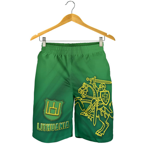 Image of Lithuania Vytis Columns of Gediminas Men Shorts K8