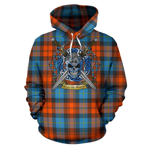 Image of MacLachlan Ancient Tartan Hoodie Celtic Scottish Warrior A79 | Over 500 Tartans | Clothing | Apaprel