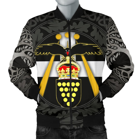 Cornish Symbols Men's Bomber Jacket - The Celtic spirit of Cornwall - BN21
