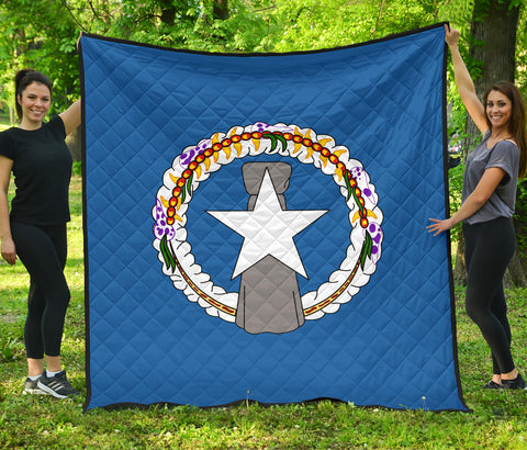 Image of Nothern Mariana Islands Premium Quilt | Blanket | Home Decor