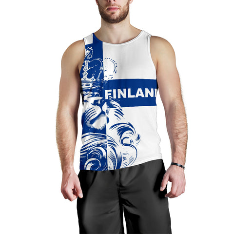 Image of Finland Lion Men's Tank Top Bn10