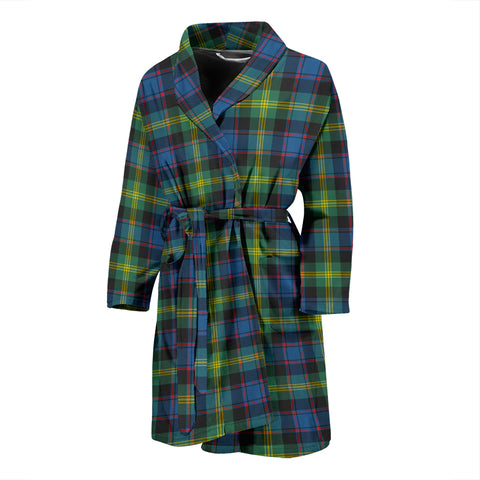 Watson Ancient Tartan Men's Bath Robe - BN04