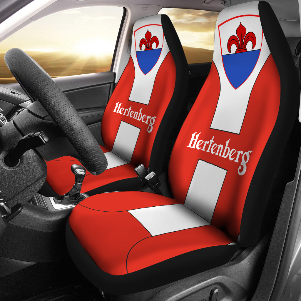 Hertenberg Swiss Family Car Seat Covers  - Love The World