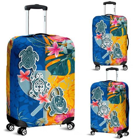 Hawaii Luggage Covers Polynesian Turtle Special | 1sttheworld