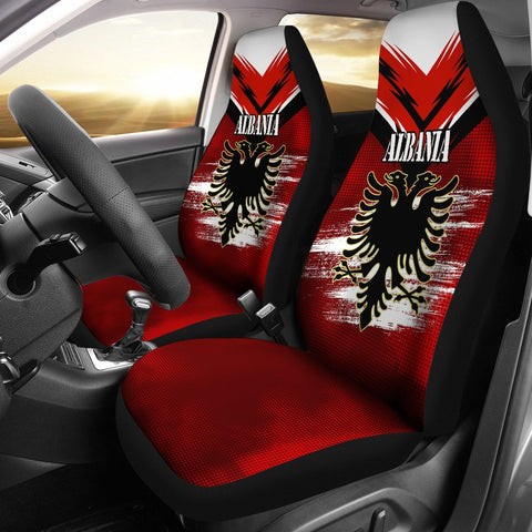 Albania Car Seat Covers - New Release A25