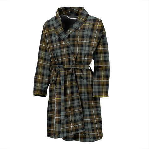 Campbell Argyll Weathered Tartan Men's Bath Robe