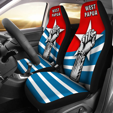 Free West Papua Car Seat Covers