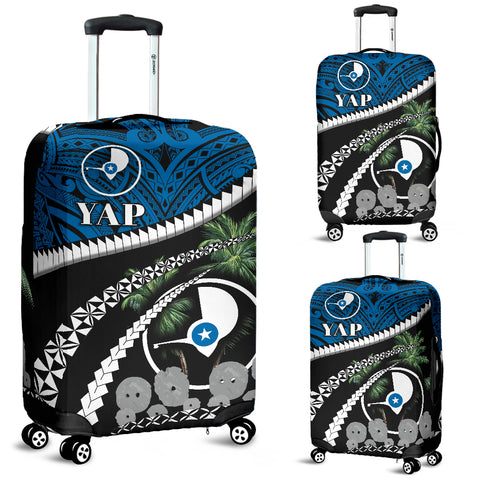 Image of Yap Stone Money Luggage Covers - Road to Hometown K4
