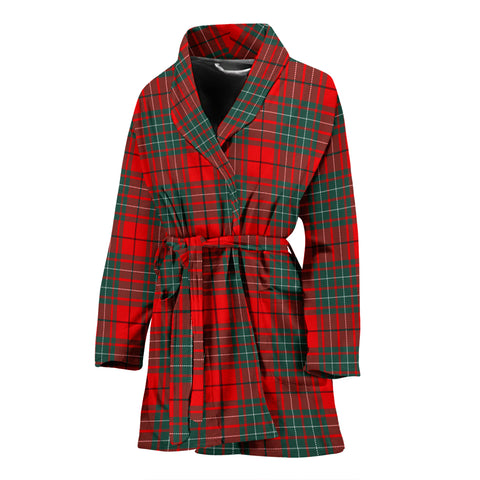 Cumming Modern Tartan Women's Bath Robe