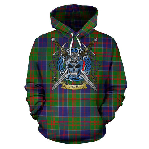 Stewart of Appin Hunting Modern Tartan Hoodie Celtic Scottish Warrior A79 | Over 500 Tartans | Clothing | Apaprel