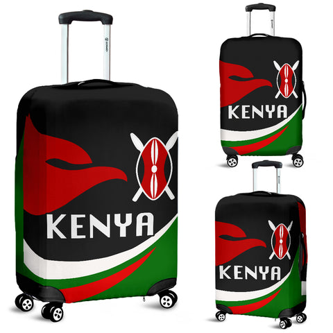 Image of Kenya Luggage Covers Proud Version