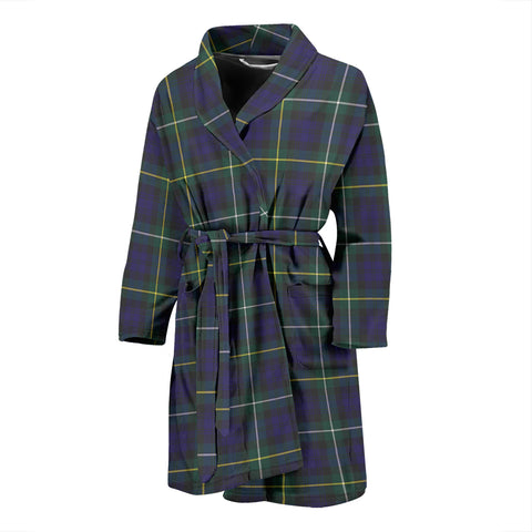Campbell Argyll Modern Tartan Men's Bath Robe