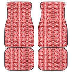 Maori Car Floor Mat 4 Pieces 29 K3