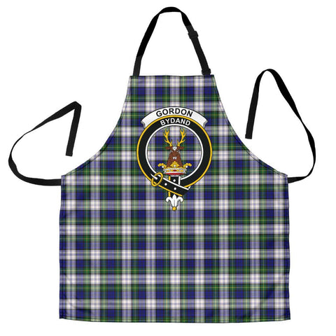 Gordon Dress Modern Tartan Clan Crest Apron