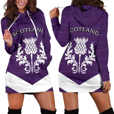 Scotland Women's Hoodie Dress Thistle TH5 |Women's Clothing| 1sttheworld