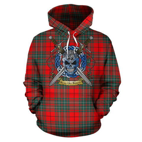 Image of Cumming Modern Tartan Hoodie Celtic Scottish Warrior A79 | Over 500 Tartans | Clothing | Apaprel