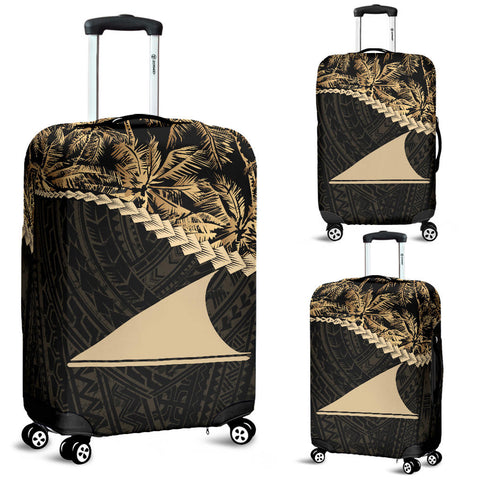 Tokelau Luggage Covers Golden Coconut A02