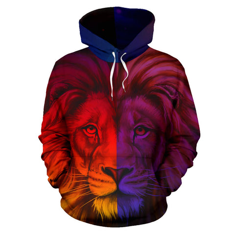 Image of Afirca King Of The Animal Lion Hoodie