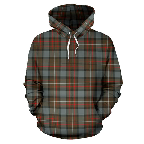 Image of Fergusson Weathered Tartan Hoodie HJ4
