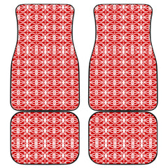Maori Car Floor Mat 4 Pieces 25 K3