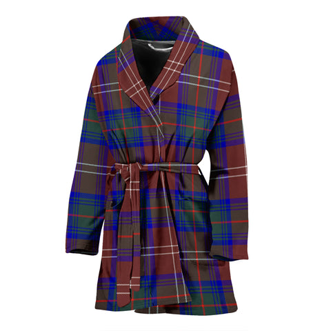 Chisholm Hunting Modern Tartan Women's Bath Robe