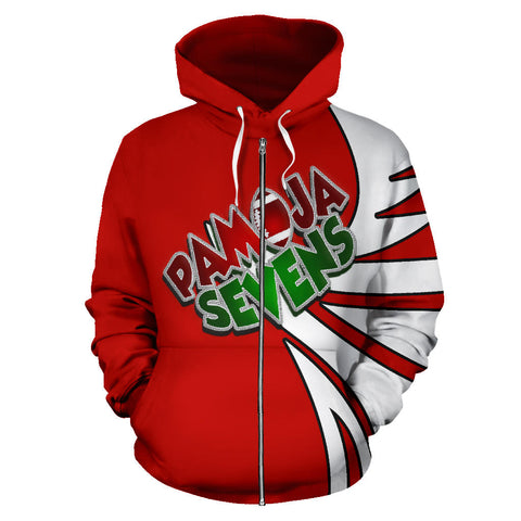 Image of Kenya Pamoja Sevens Zip Up Hoodie - Warrior Style