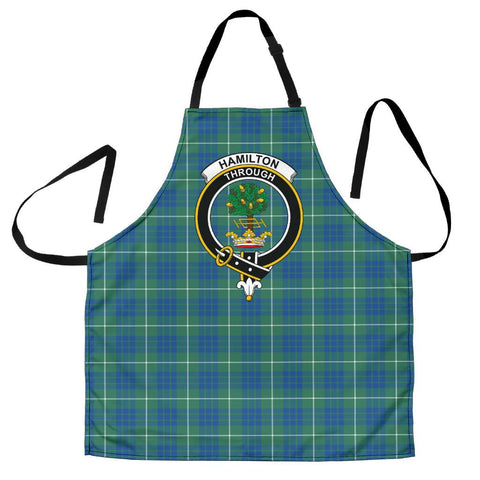 Image of Hamilton Hunting Ancient Tartan Clan Crest Apron